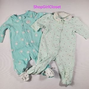 💥Just In💥 2pc Sleepers Girls sz 3M